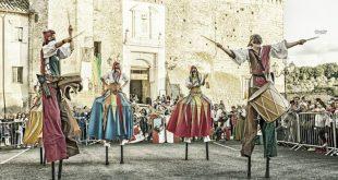 Menestrelli e antichi mestieri: torna la Festa Medievale La Barcana di Civitella San Paolo