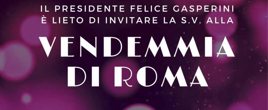 Il Frascati si mette in mostra nella splendida sede di Palazzo Ferrajoli, per l'evento Vendemmia di Roma