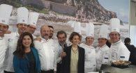 Chef stellati e ospiti internazionali: successo per lo stand Lazio al Vinitaly