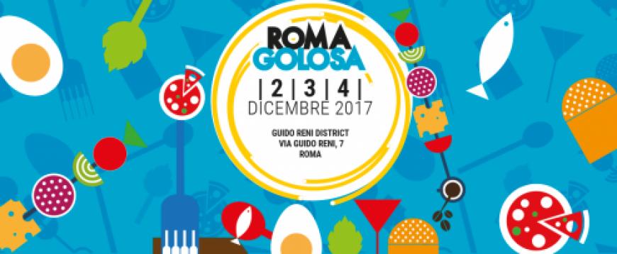 Roma Golosa, dal 2 al 4 dicembre un evento da non perdere