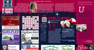 Dinuovoatavola, la rivista di agosto (soluzioni al cruciverba)