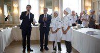 Un dolce al Pecorino romano, a Roma premiati i grandi chef