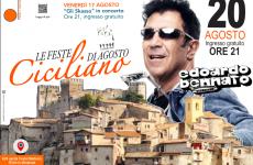 Le feste di Agosto a Ciciliano. Grande attesa per Bennato