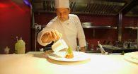 Lo Chef Niko Sinisgalli  si rinnova e crea nuovi piatti estivi per il  Ristorante Tazio
