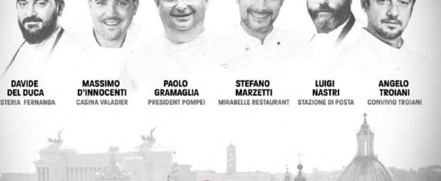"""""""La notte delle stelle"""": a cena con i migliori chef e le star del cinema"""